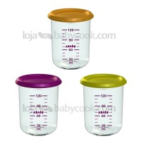 3 Baby portions 150 ml para Babycook