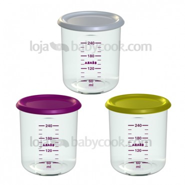 3 Maxi portions 300ml para Babycook